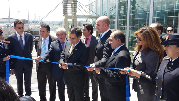 inauguracin airport center 1