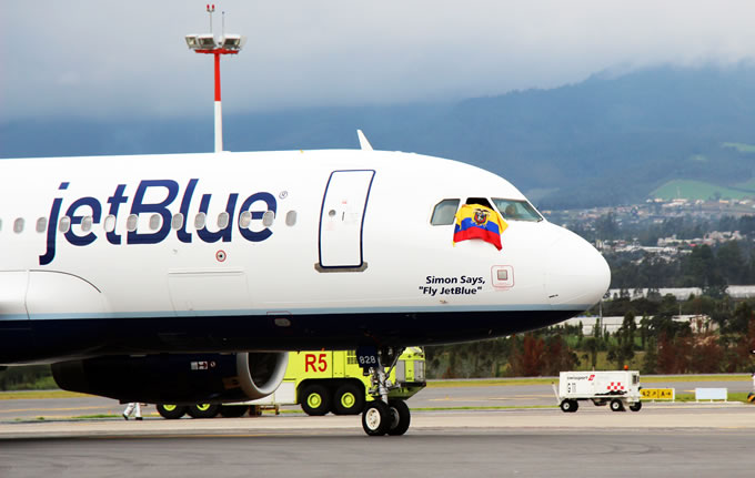 JetBlue has started its service from Quito