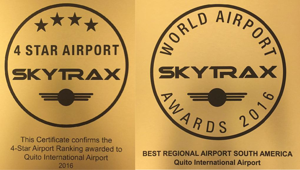 Skytrax distinguishes Mariscal Sucre Airport as the Best Regional Airport in South America