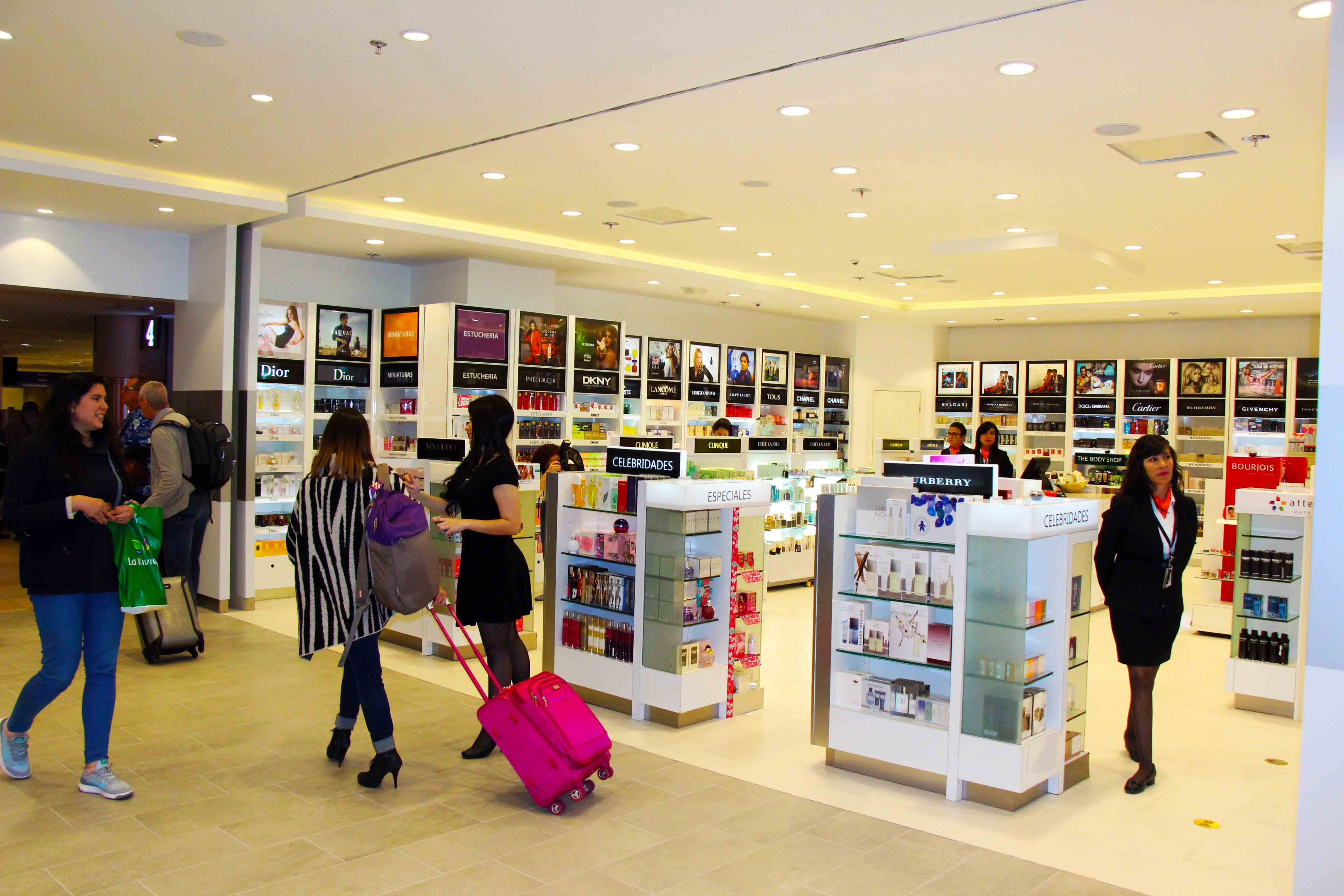 The renovated Attenza Duty Free Shop in international arrivals offers a better experience for passengers