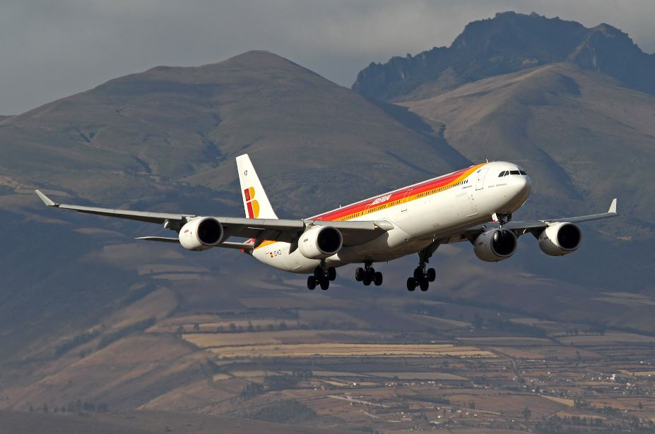 Iberia expands its non-stop flights between Quito and Madrid