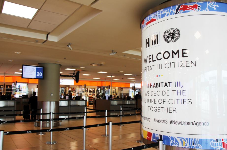 Mariscal Sucre Airport was vital to the success of Habitat III