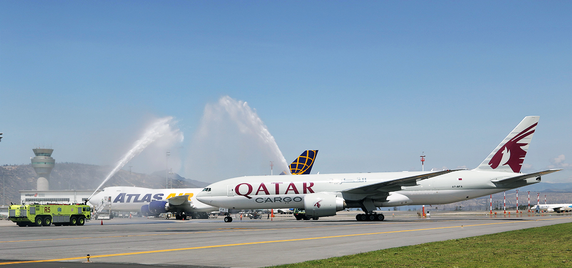 Qatar Cargo Landed in Quito International Airport for the first time