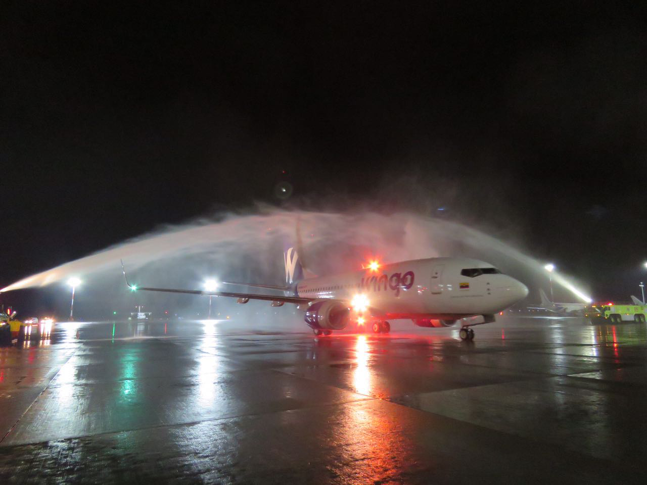 Wingo starts operations at Mariscal Sucre Airport