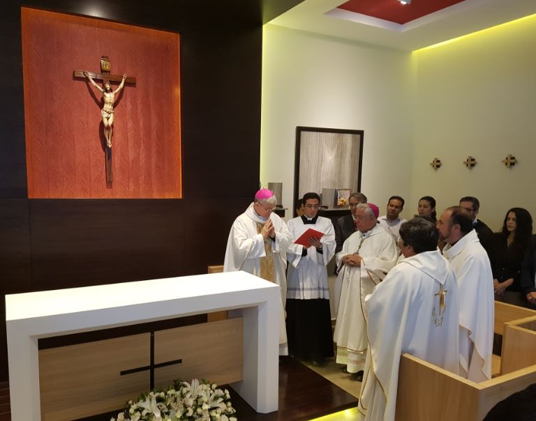 The Quito International Airport inaugurates its Virgen del Quinche del Aeropuerto de Quito Chapel