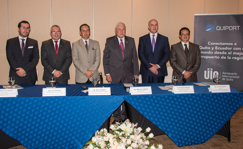 Quito and Cuenca Airports sign Cooperation Agreement for Operations Management