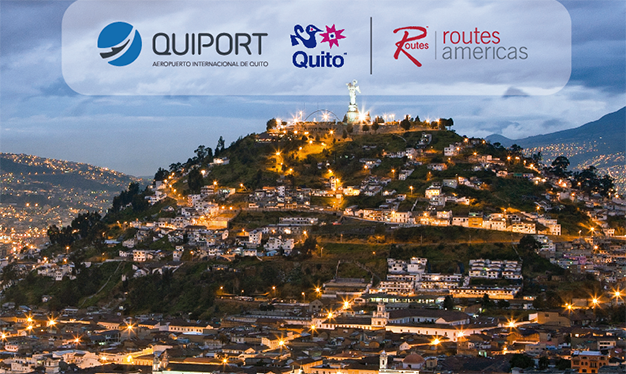 Quito will host the most important air connectivity development event