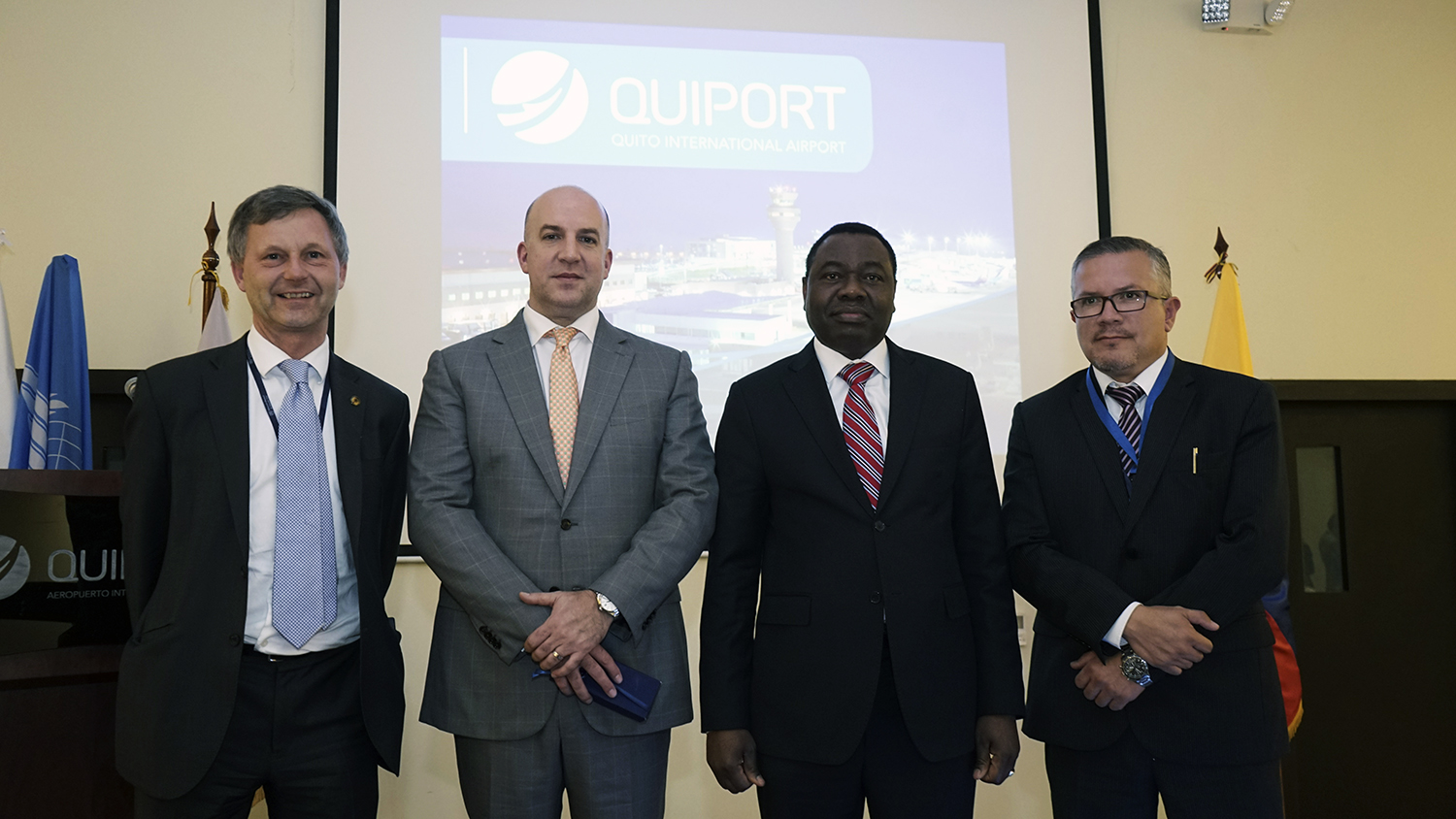 INTERNATIONAL CIVIL AVIATION ORGANIZATION (ICAO) HIGH LEVEL DELEGATION VISITED THE QUITO AIRPORT