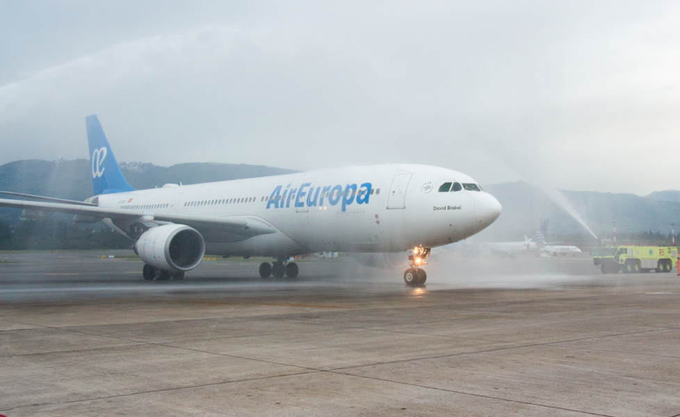 Air Europa begins its operations in Quito with projections to transport 90,000 passengers per year