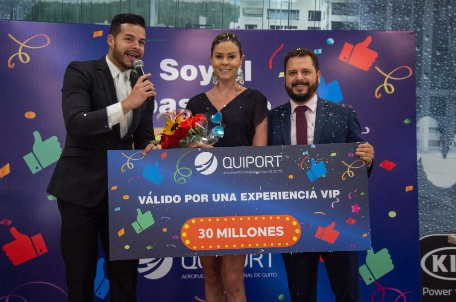 Quito Airport celebrates its 30 millionth passenger