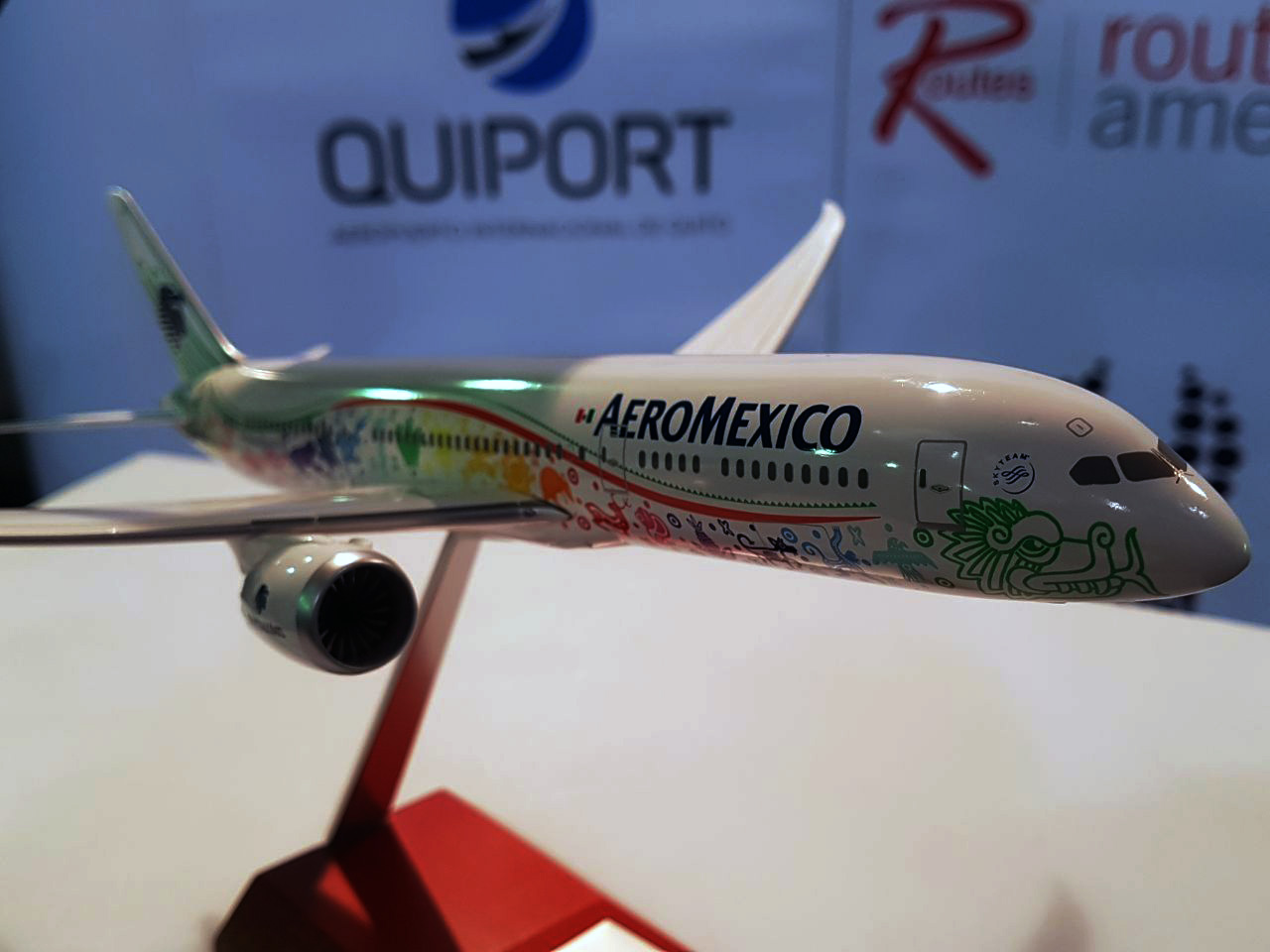 AEROMEXICO ANNOUNCES FREQUENCY INCREASE IN THE QUITO - MEXICO CITY ROUTE