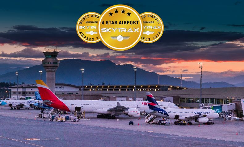 The Quito airport is once again recognized as the best in South America