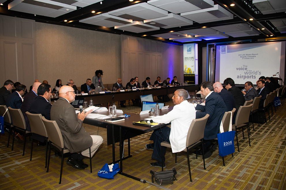 Airports Council International Latin America - Caribbean meets in Bogotá