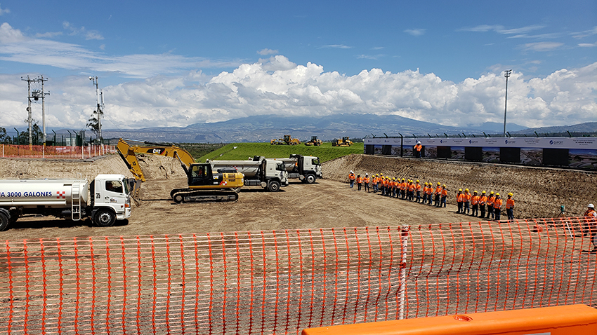 Quiport begins the passenger terminal expansion at Mariscal Sucre Airport
