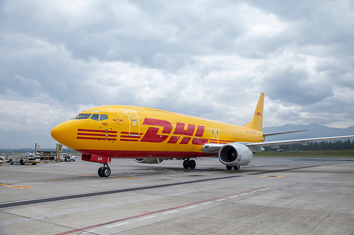 DHL joins the air cargo offer at Quito International Airport