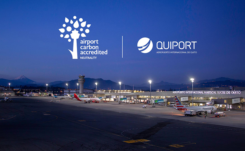 Quito Airport Achieves Carbon Neutrality