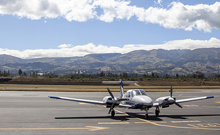 Mariscal Sucre International Airport will be the new platform for training commercial pilots in Ecuador