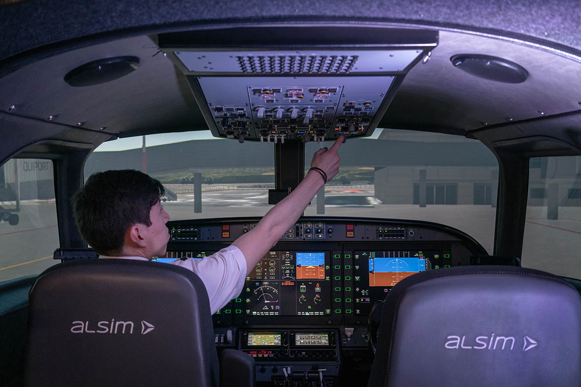 Quito International Airport inaugurates a state-of-the-art flight training center