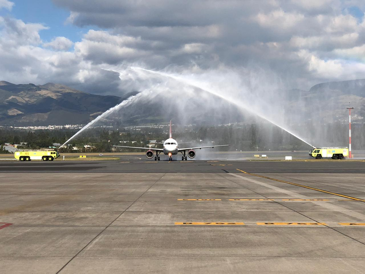 Avianca resumes the Quito-Bogotá route