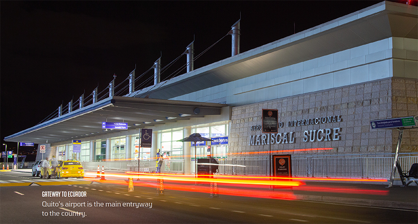 a crisis-proof team mariscal sucre international airport Quito's airport is the main entryway to the country. Gateway to ecuador leads the operation of the quito airport