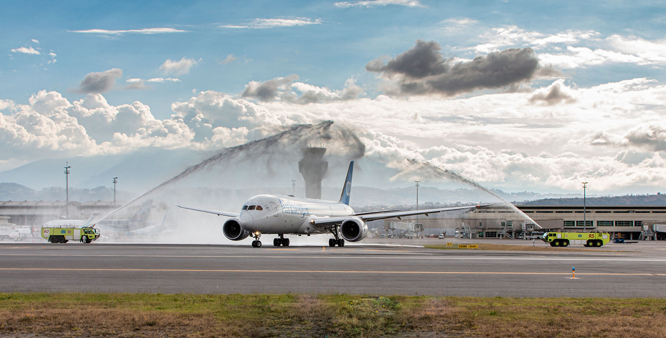 Air Europa arrives in Quito and Ecuador with the Boeing 787 Dreamliner to resume its regular operations