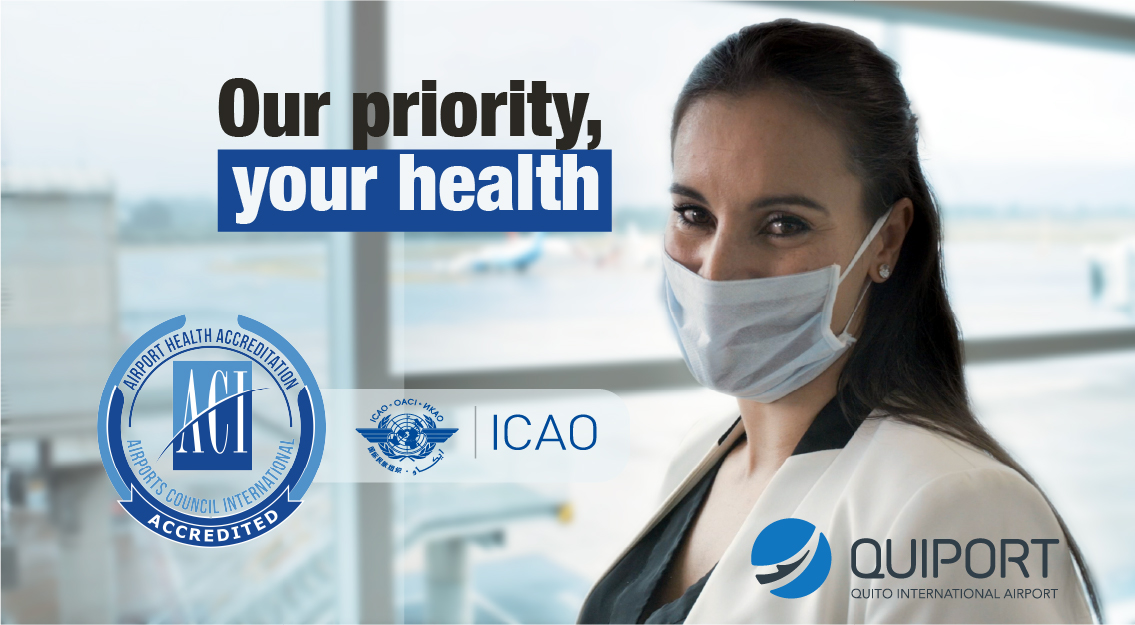 Quito Airport obtains the Airport Health Accreditation