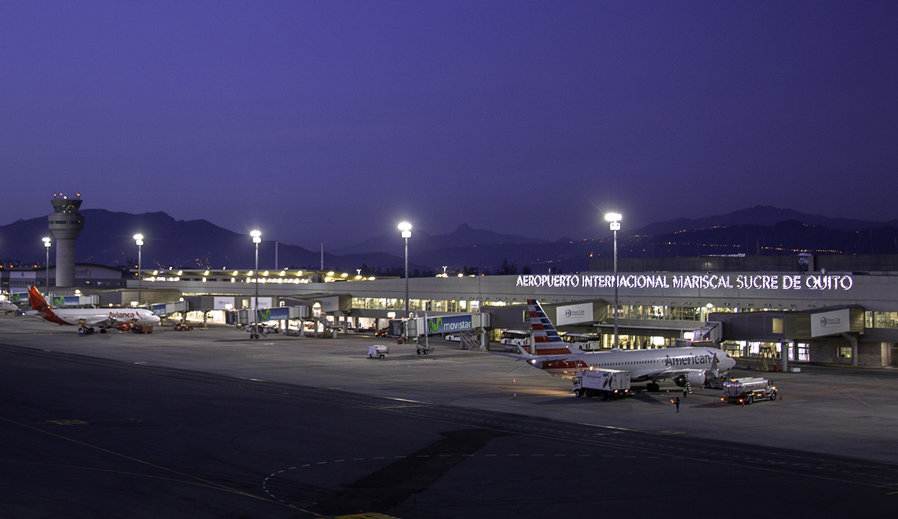 More than 62,000 passengers have transited through the Quito airport between June and July