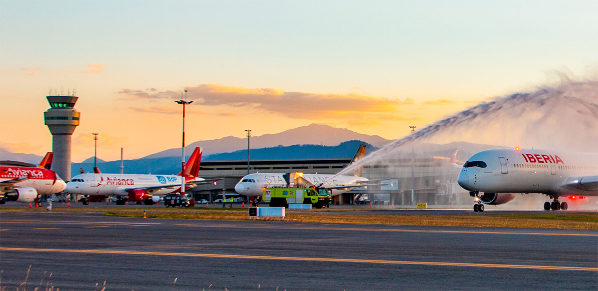The reactivation of the Quito airport is a positive influence in its surroundings