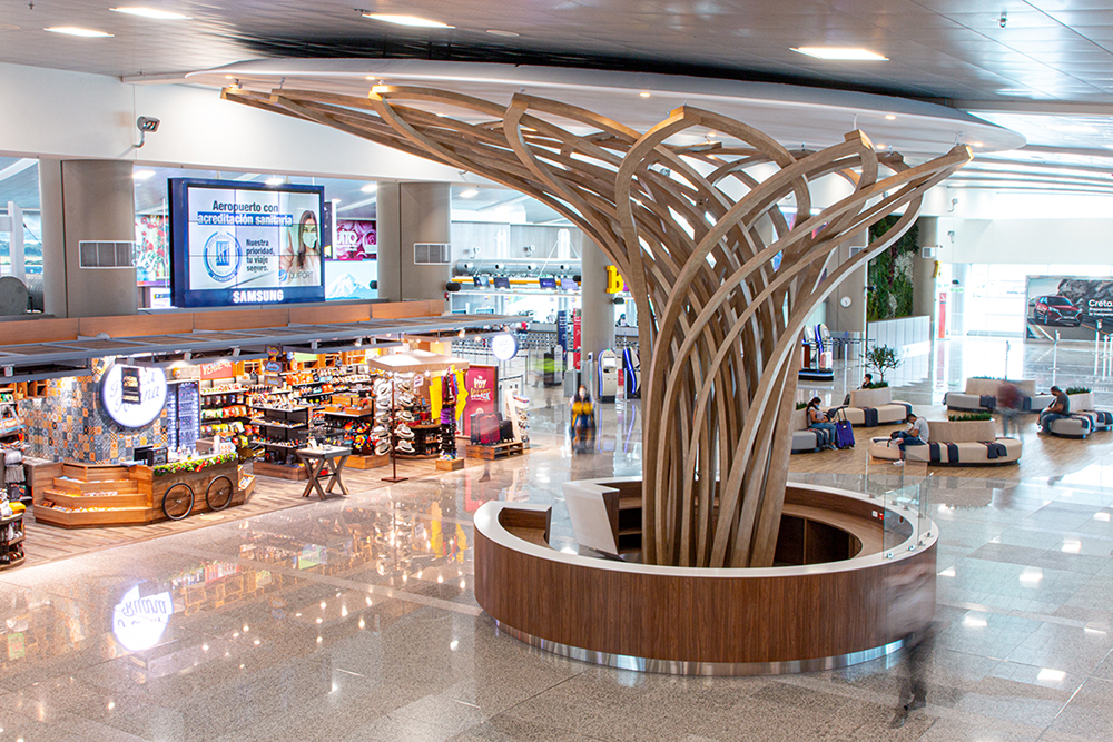 Quito Airport inaugurates remodeled public areas
